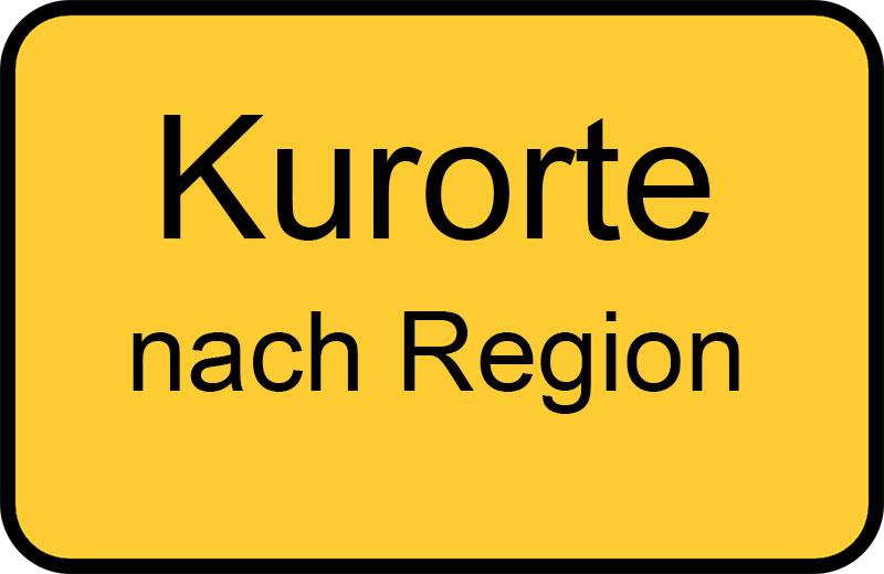 Kurorte nach Regionen